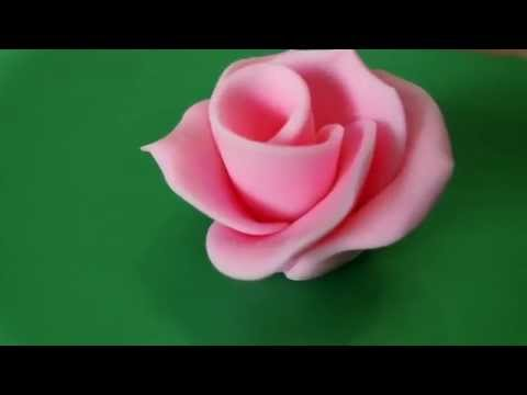 How To Make A Simple Sugarcraft Rose