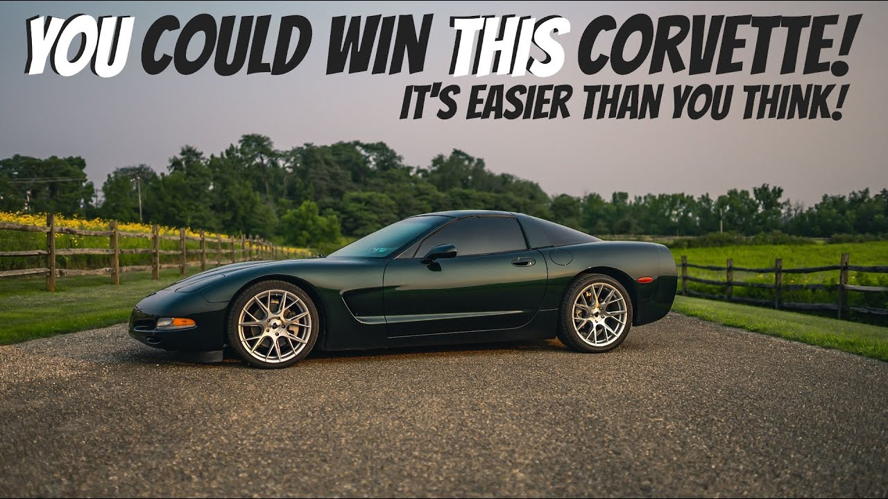 Want to WIN a Corvette? FULL details of the HorsePower Obsessed GIVEAWAY!