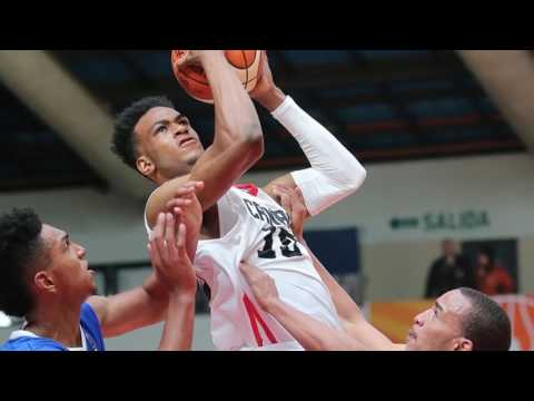 Raptors Open Gym Fast Break Segment - Oshae Brissett