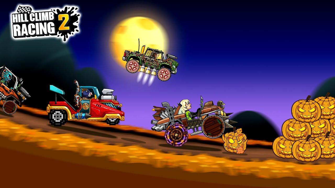 Hill Climb Racing 2 - Speedy Hollow First Halloween Event 2021 Gameplay
