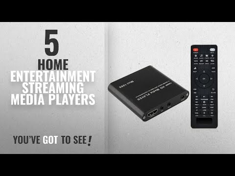 Top 5 Home Entertainment Streaming Media Players [2018]: HDMI Media Player, AGPtek Black Mini 1080p