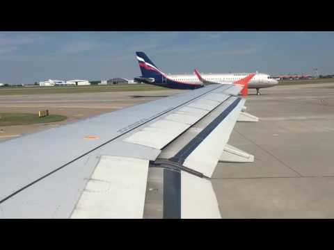 Aeroflot Airbus A320 Takeoff From Moscow Sheremetyevo=))