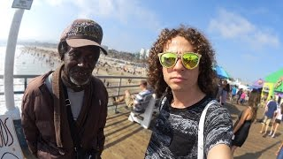 PLAYA LLENA DE LOCURAS! | Venice Beach