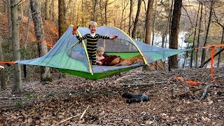 Hammock tent camping WIN or FAIL??? - Tensile Stingray 3 person tent review thumbnail