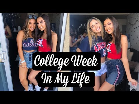 College Week In My Life | University of Arizona