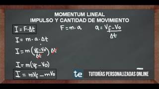 Momentum Lineal Impulso y Cantidad de Movimiento