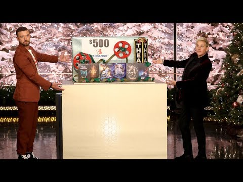 Justin Timberlake and Ellen Make It a Fiesta with a Mexico Giveaway