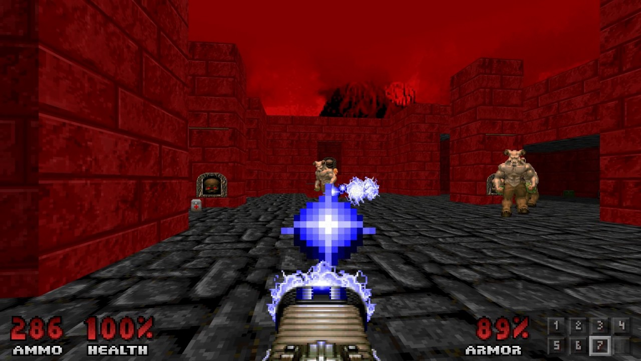 Psx doom tc: no rest for the living nrftl04: hell mountain youtube.
