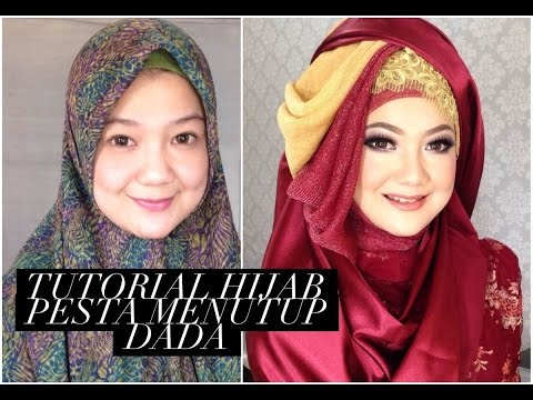 Tutorial Hijab Formal Syar'i Full PART.