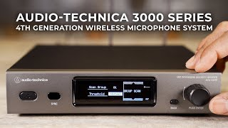 Audio-Technica 3000 Series 4th Generation Wireless Microphone System