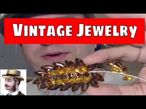 Historical Overview of Vintage Jewelry