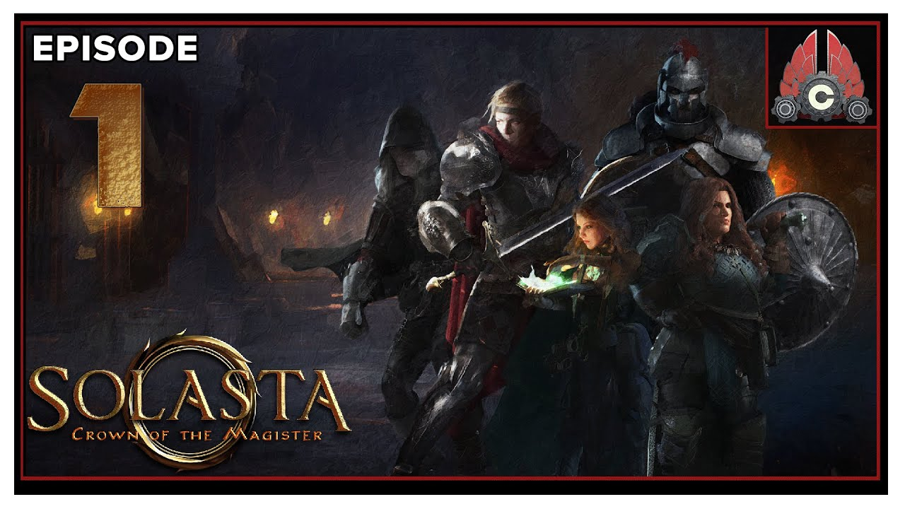CohhCarnage Plays Solasta: Crown of the Magister