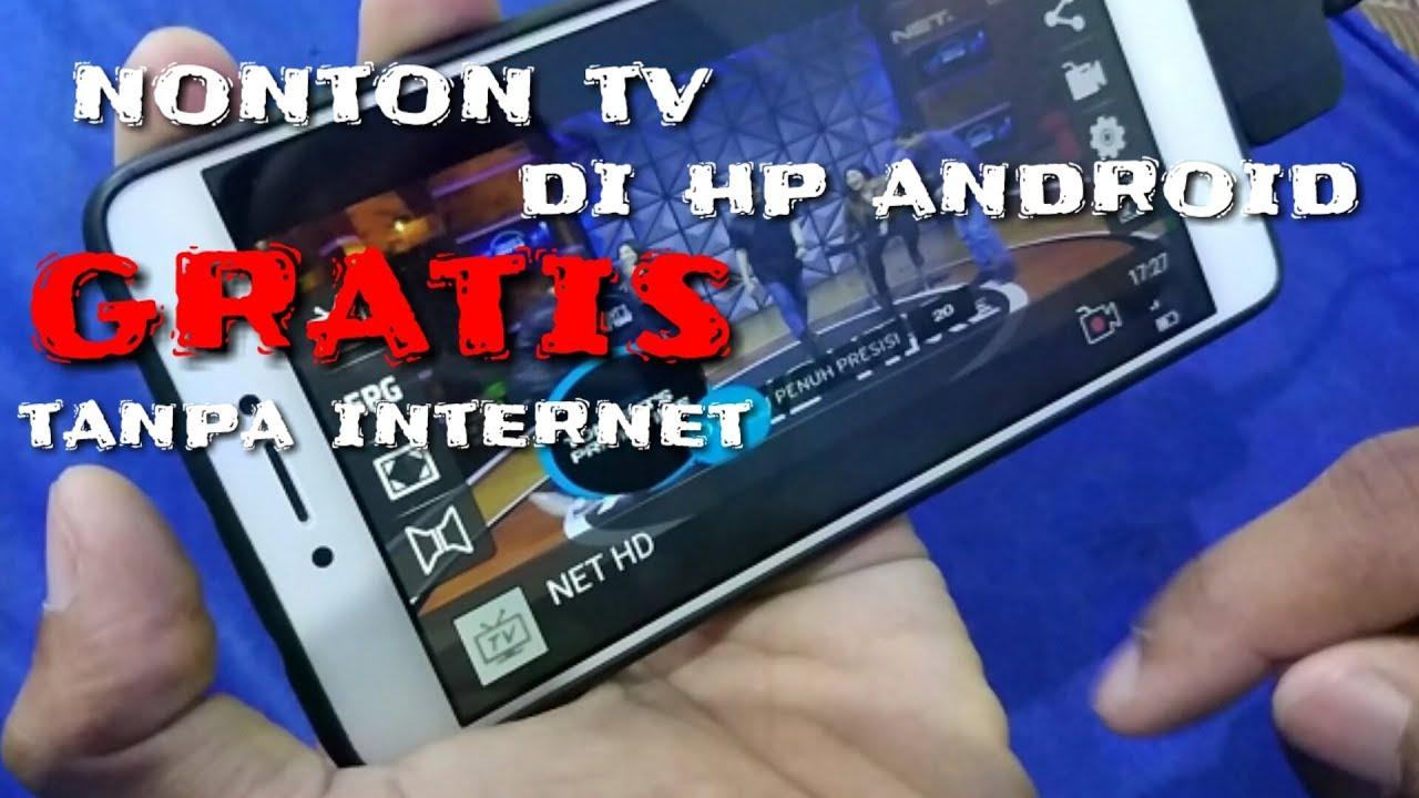 Set Top Box Untuk Hp Android Cara Nonton Tv Digital Hp Android