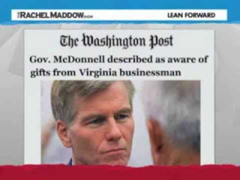 Criminal Indictment Of Virginia Governor Bob McDonnell (R) ?