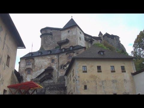 Walking Tour: Orava Castle, Slovakia / Pěší výlet: Oravský hrad, Slovensko