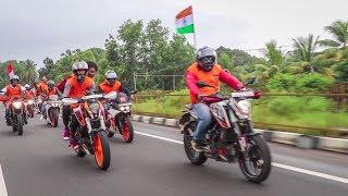 KTM Manipal Independence Day Ride 2018     Kodi Beach Kundapura