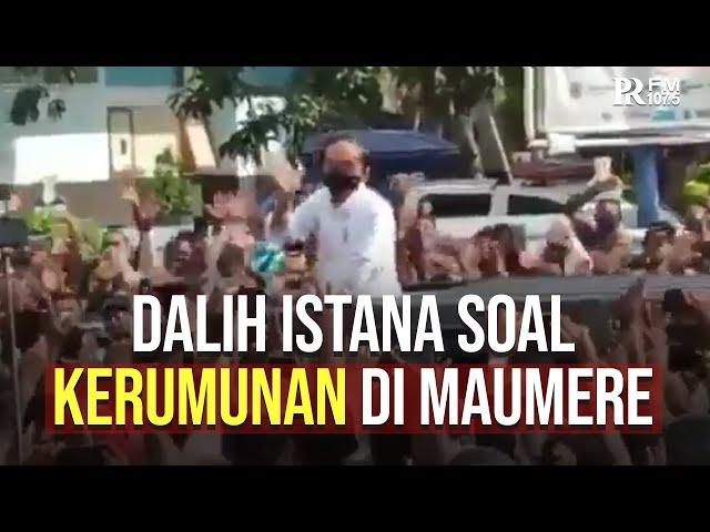 Dalih Istana Soal Kerumunan Jokowi di Maumere: Presiden Ingatkan Warga Pakai Masker