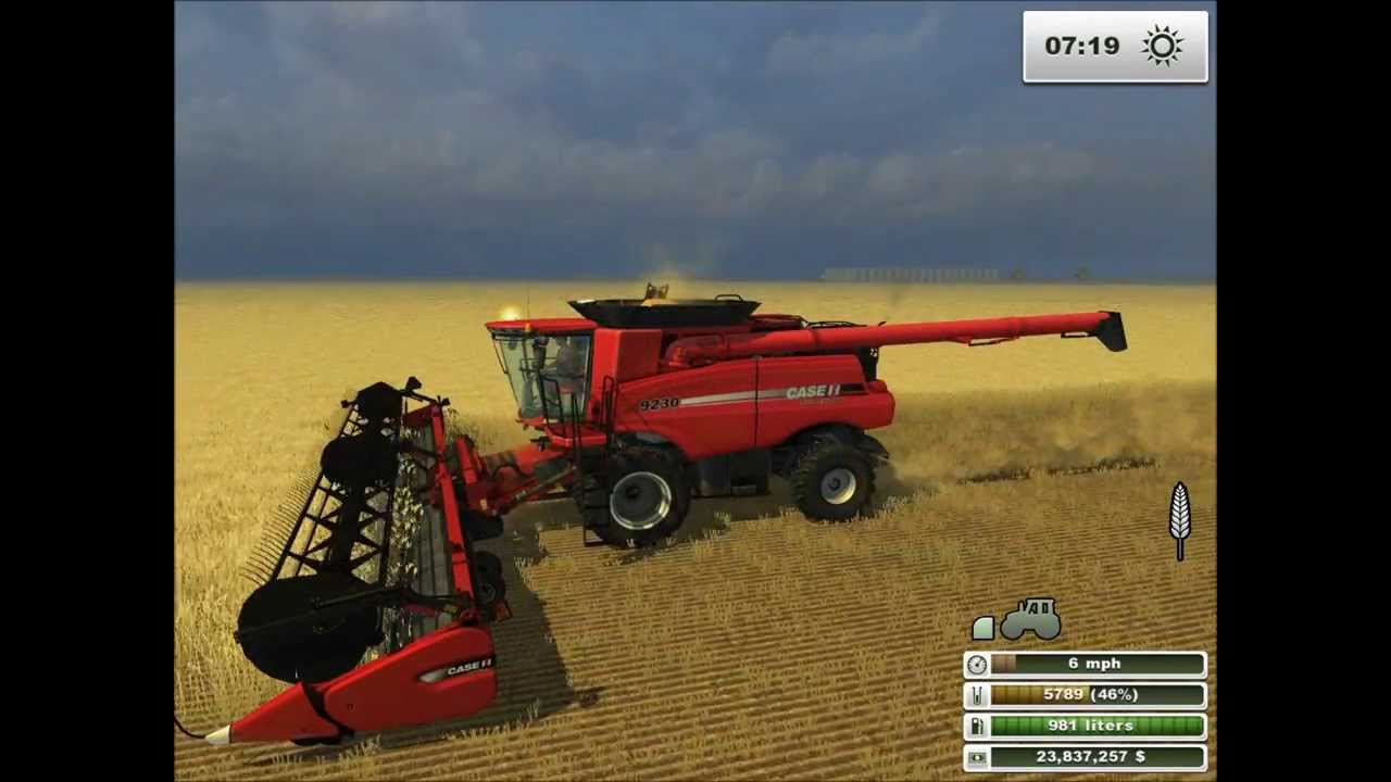 Ls 2013 Farming Simulator Case Ih Combine 9230 Titanium Edition Add On Ls 2013
