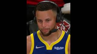"""Steph says 'I played like trash"""" after triple-double in W 👏😂 #shorts"""