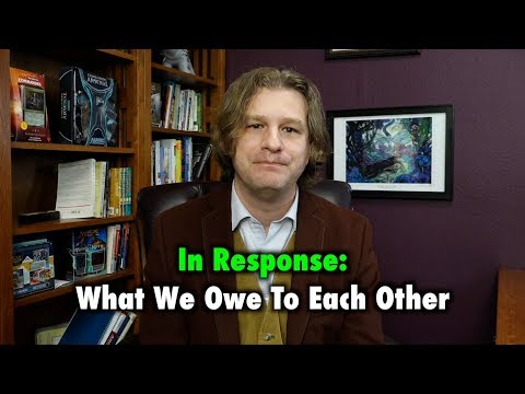 In Response: What We Owe To Each Other