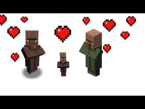 How to breed villagers fast, make baby villagers in minecraft in 1 minute