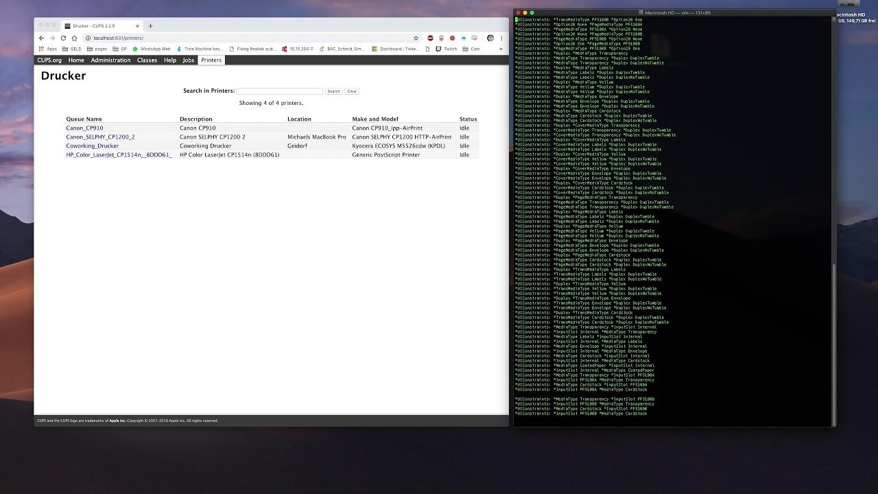 Kyocera job accounting MAC OSX job ID incorrect