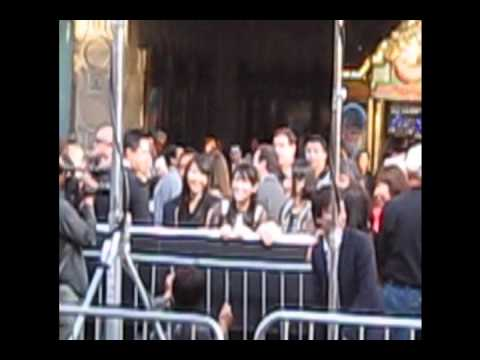 Perfume at Cars 2 Premier in Hollywood
