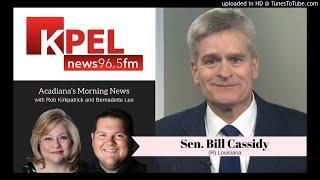 Sen Bill Cassidy | Kavanaugh Vote, LA Flood Relief