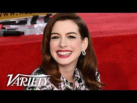 Anne Hathaway - Walk of Fame Ceremony -  Stream
