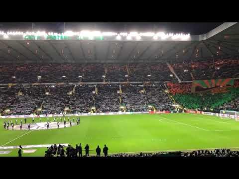 Celtic Fans Singing Your Never Walk Alone - Celtic vs Zenit