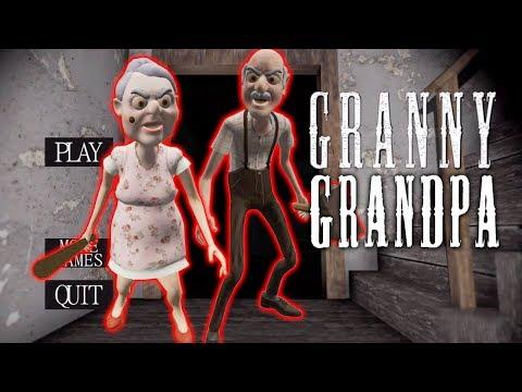 БАБКА ГРЕННИ И ДЕД ГРЕНДПА - Grandpa And Granny Escape House
