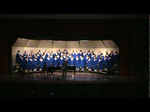 Winton Woods Concert Choir performs The Road Not Taken by Douglas E. Wagner