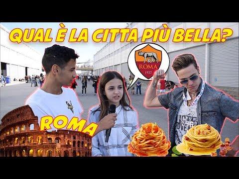 Roma è La Città Più Bella d'ITALIA? - Domande Agli ITALIANI a Roma