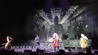 Apocalyptica - Shadowmaker tour Mexico