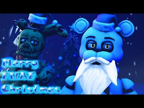 SFM FNAF Merry Christmas Song by JT Music (OC Collab)