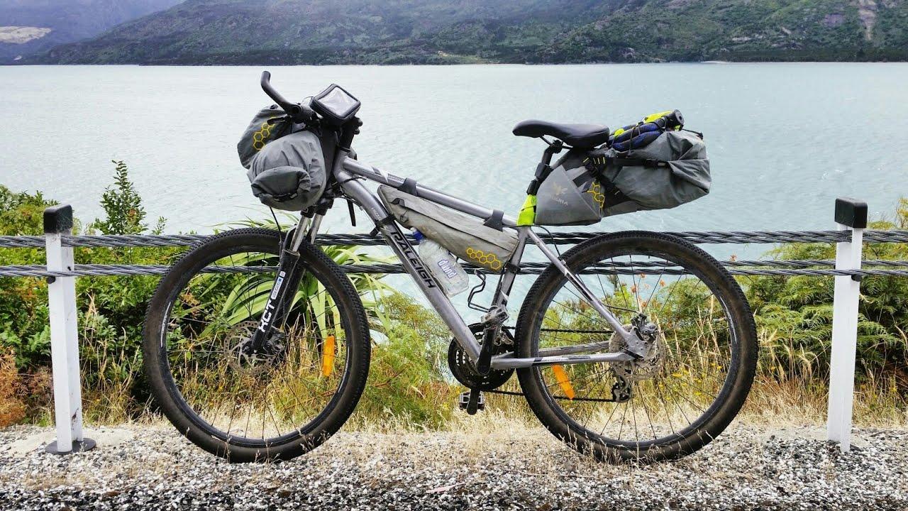 Ultralight Mountain Bike Touring Setup Bikepacking Youtube