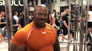 TuffStuff Fitness - 2018 Olympia Backstage Pump up Room