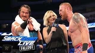 """Heath Slater thanks his """"big ol' refrigerator of an angel"""": SmackDown Live Fallout, Aug. 30, 2016"""