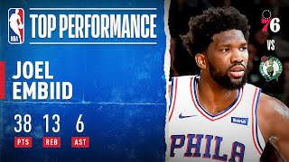 Joel Embiid TAKES OVER On The Road!