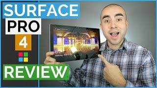 Microsoft Surface Pro 4 Review: Is The Surface Pro 4 Tablet The Best Laptop Tablet Hybrid?