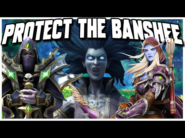 Grubby | WC3 | Protect The BANSHEE!