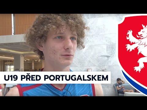 Reprezentace do 19 let na ME 2017 před zápasem s Portugalskem (4. 7. 2017)