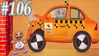 Speedy Car Crash Buddy Machines WEAPON VS The Buddy - Kick The Buddy Gameplay Walkthrough Part 106