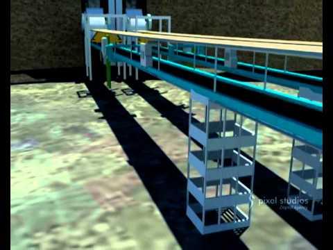 Coal Processing Plant - 3D Visualization
