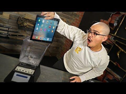 Tablet In A Blender!