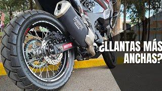 ¿Qué neumáticos debo escoger para mi moto?