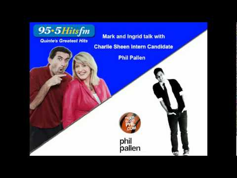 Mark and Ingrid talk with Phil Pallen on 95.5 Hits FM