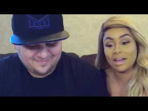 Rob Kardashian and Blac Chyna answering questions (Full Facebook Live Interview) ‪#‎RobAndChyna‬