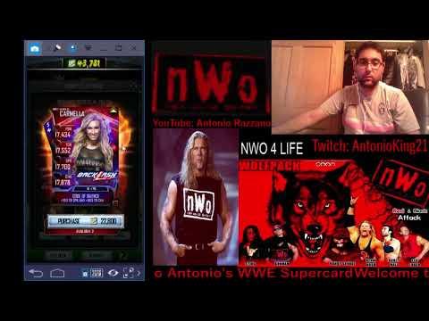 WWE SUPERCARD S4 #515 Nia Jax Ring Domination Day 3!