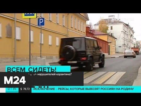 Как будут наказывать нарушителей карантина - Москва 24